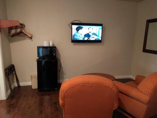 Alamo Inn & Suites: Sitting Area