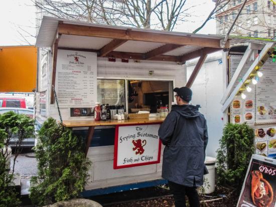 The Frying Scotsman: Frying Scotsman food cart