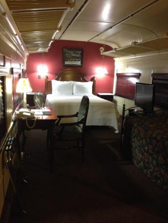 train car room picture of chattanooga choo choo chattanooga tripadvisor. Black Bedroom Furniture Sets. Home Design Ideas