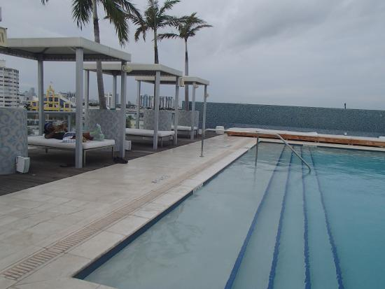 Boulan South Beach: rooftop pool