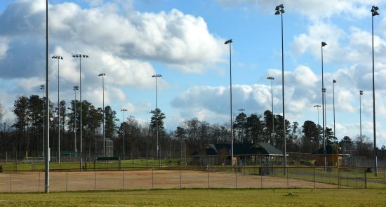 Huntersville, NC: Ball Field with Night Lighting
