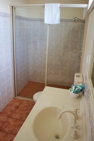 Town Centre Motel : Twin Room Bathroom