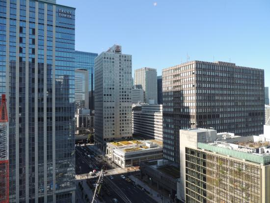Hotel Ryumeikan Tokyo: View from the Lobby