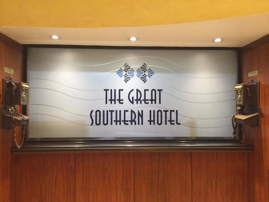 hotel sign picture of the great southern hotel sydney sydney rh tripadvisor com au