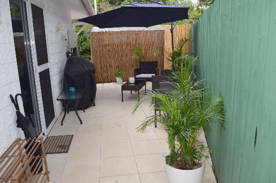 Clifton Beach, Australia: Cottage Courtyard