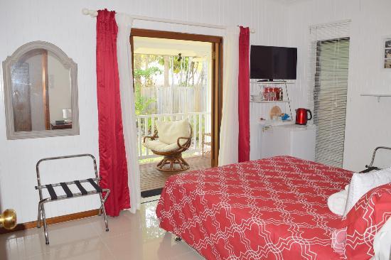 Clifton Beach, Australia: Queen Room
