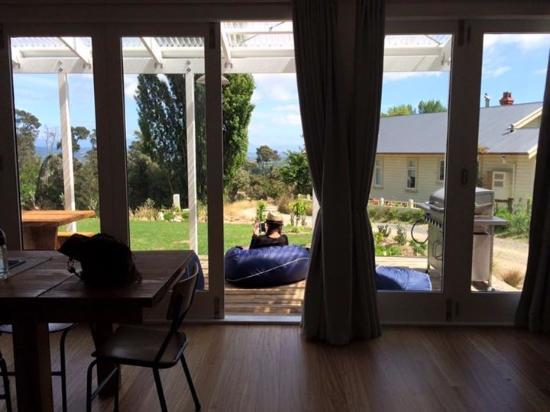 Richmond, Nueva Zelanda: View from the kitchen