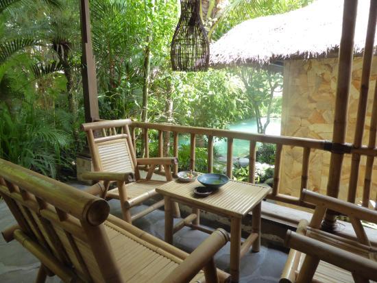 Ubud ArtVilla : Villa Garden porch