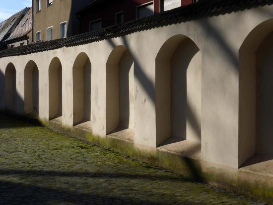 Hochstadt, Alemania: Kirchumfriedung