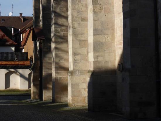 Hochstadt, Alemania: Spätgotische Massivbauweise