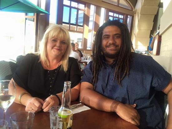 Thai Orchid Restaurant: Tracey & Tom enjoying Thai @ Thai Orchard Henley Beach, Australia