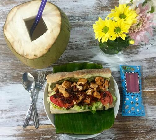Fresh Tropical Fruit Plate Picture Of The Spicy Coconut Seminyak