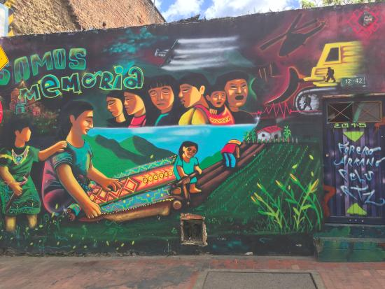 The Original Bogota Graffiti Tour: street art