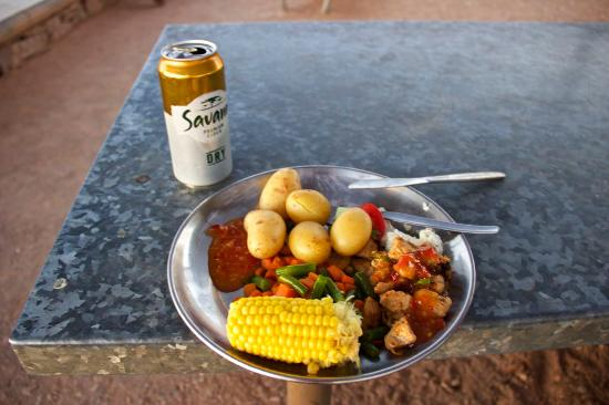 Christmas Dinner In A Tin.Christmas Dinner Picture Of Nomad Africa Adventure Tours