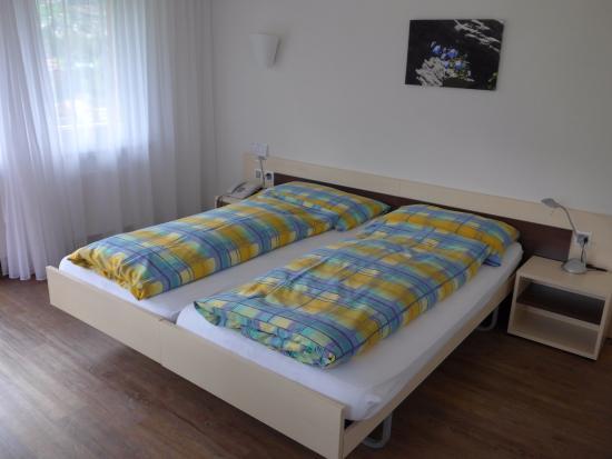 Ferien- und Familienhotel Alpina: Doppelbett