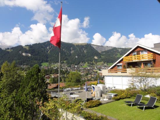 Ferien- und Familienhotel Alpina: Ausblick