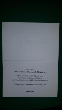 Lanson Place Winsland: 9