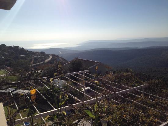 Amirim, Israel: balcony view