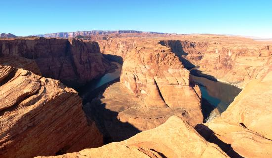 Horseshoe Bend, AR: Canyon creato dall'acqua