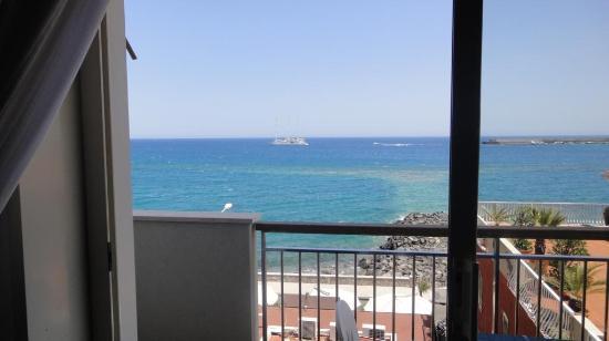 Hotel Costa Azzurra: Вид из номера, 4 этаж