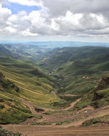 Westville, Sør-Afrika: Sani Pass, Lesotho