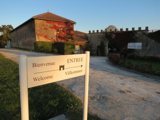 Plassac, فرنسا: Entrée du Château Monconseil Gazin
