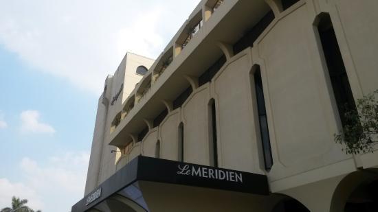 Le Meridien Heliopolis: outside view