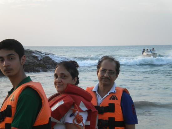 Aluva, Indien: Ready for Speed Boat from Hawa Beach- Kovalam