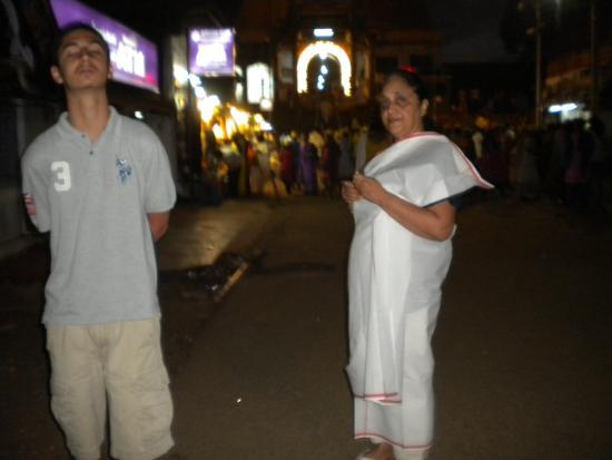 Aluva, Indien: Swamy Padmanabha temple Trivandrum