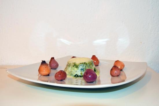 La Friseria : Sformatino di cicoria con pecorino sfuso e lampascioni