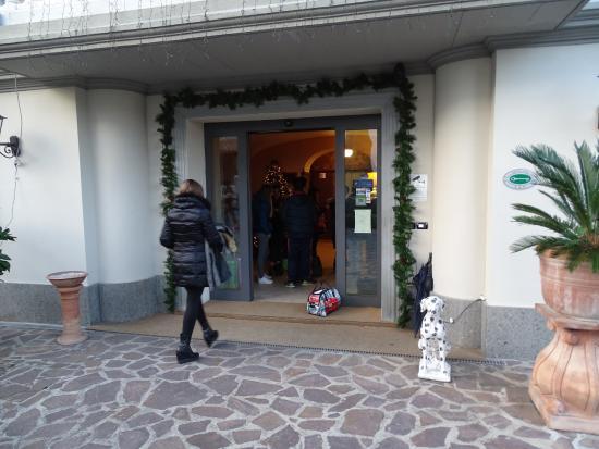 Hotel Villa Maria: Ingresso