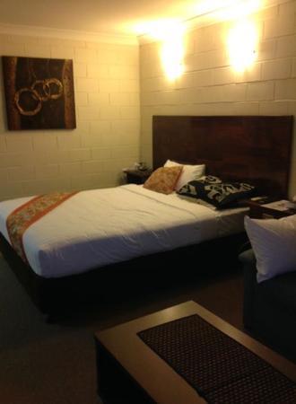 Admiral Nelson Motor Inn: Our room