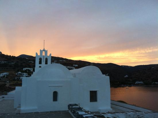 Sifnos, Grecia: Aout 2015 soir