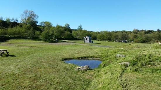 Ardfern, UK: Park up, plug in, chill out