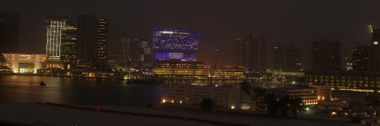 Hala Arjaan by Rotana Abu Dhabi: Night View
