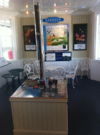 Kinloch Rannoch, UK: Rannoch Station Visitors Centre