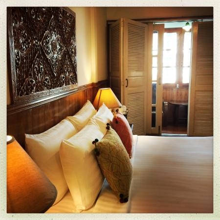 Baan Chantra: Superior room with balcony