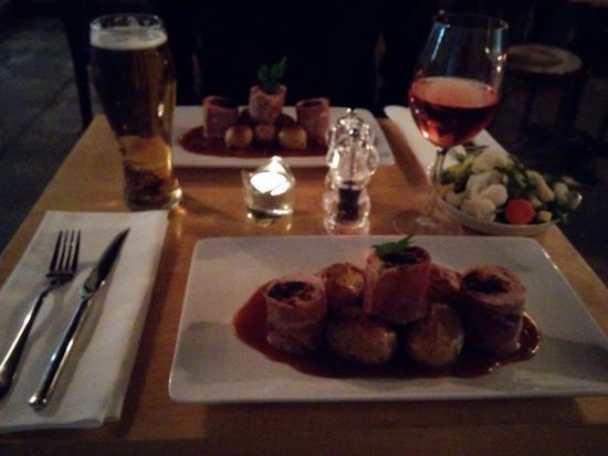 Cray, UK: Dinner