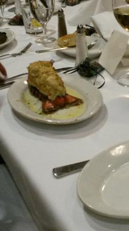 Ruth's Chris Steak House: Stuffed lobster