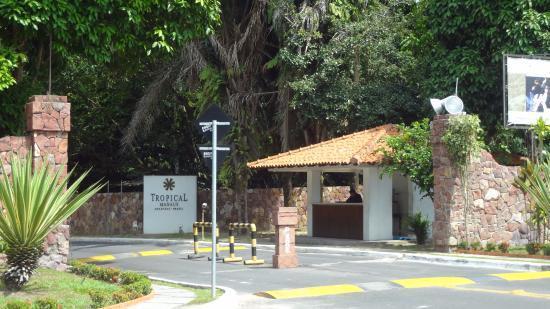 Tropical Manaus Ecoresort - Portal de entrada do Resort
