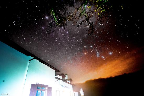 Maison Etchebehere starry night sky