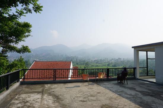 PP University Accommodation: Salah satu area hotel (atap)