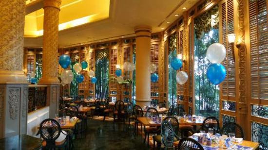 Pavilion Restaurant: Dekorasi Dinner Party