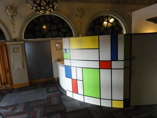 Timaru, Νέα Ζηλανδία: Lobby area, after Mondrian