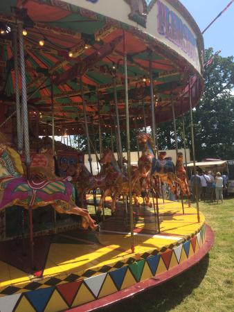 Steyning, UK: Part of the Fun Fair