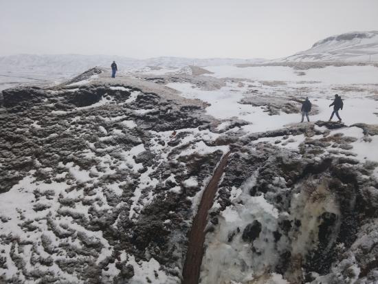 Kirkjubaejarklaustur, Island: Winters