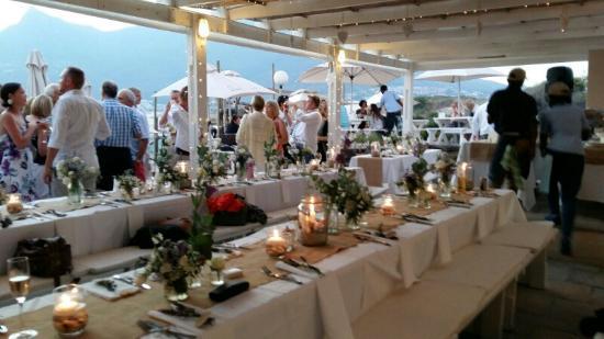 Dunes Beach Restaurant & Bar: Perfect Beach Wedding