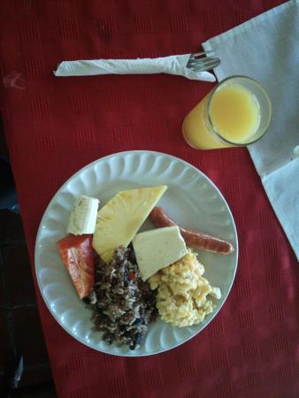 Manzanillo, Costa Rica: 朝食