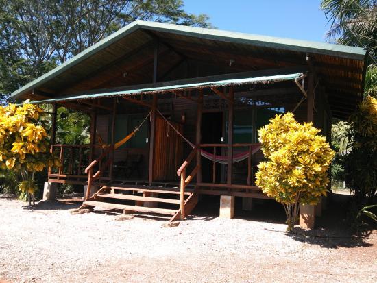 La Ensenada Lodge, ロッジの外観