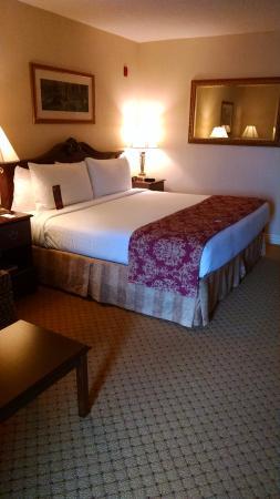 Music Road Resort Inn: king bed, comfy